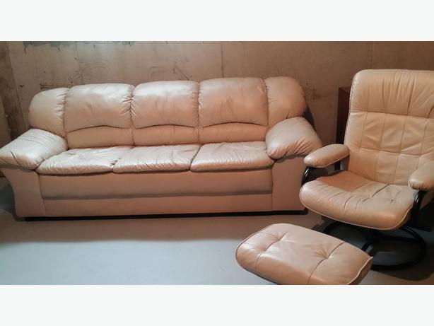 3 piece leather sofa set east regina regina for Sand leather sofa
