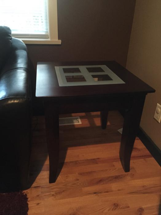 Coffee table with two end tables central saanich for Coffee tables london ontario