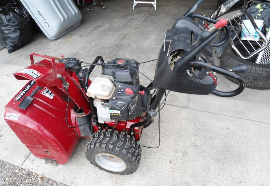 craftsman snowblower 27 13.5 ohv manual