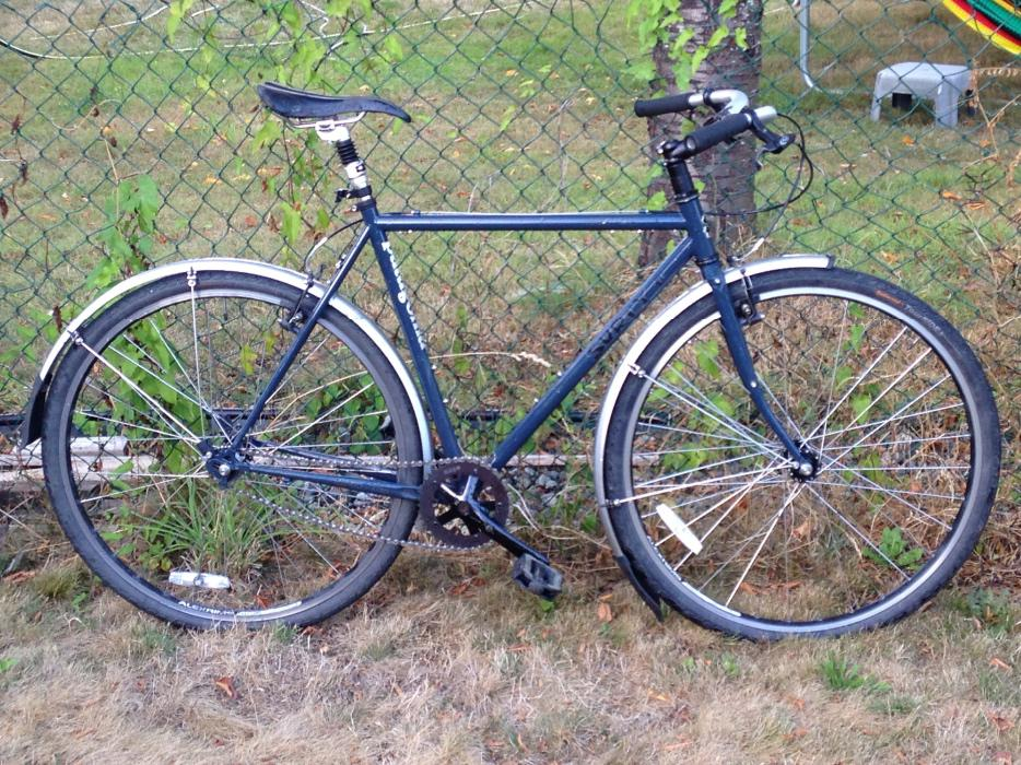 surly single speed commuter bike 54cm saanich victoria. Black Bedroom Furniture Sets. Home Design Ideas
