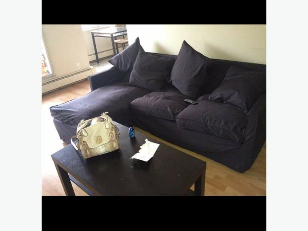 Ikea kivik love seat and chaise edmonton edmonton for Chaise edmonton