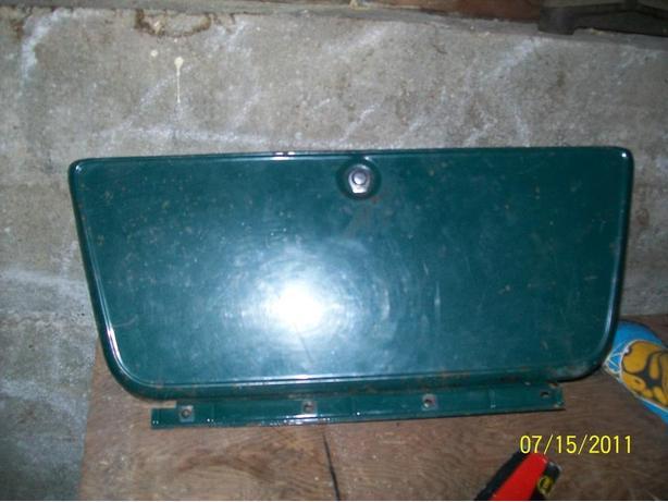 1969 gmc glove box door