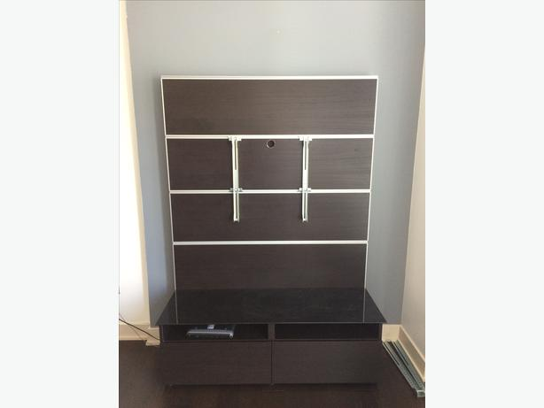 ikea framsta besta tv wall mount victoria city victoria. Black Bedroom Furniture Sets. Home Design Ideas