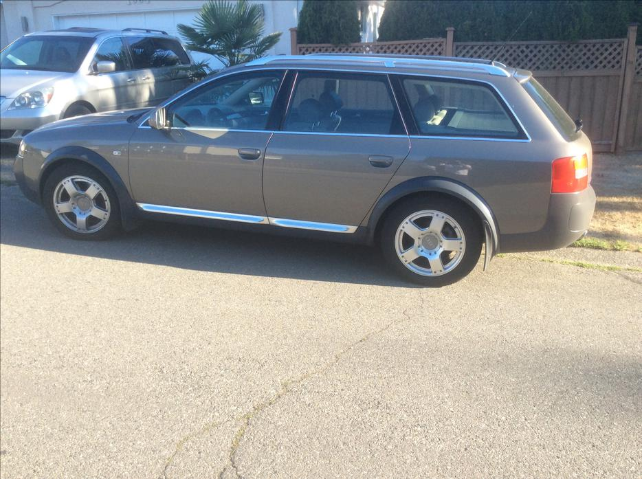 One Day Sale Leaving For Africa Tomorrow 2002 Audi Allroad Saanich Victoria