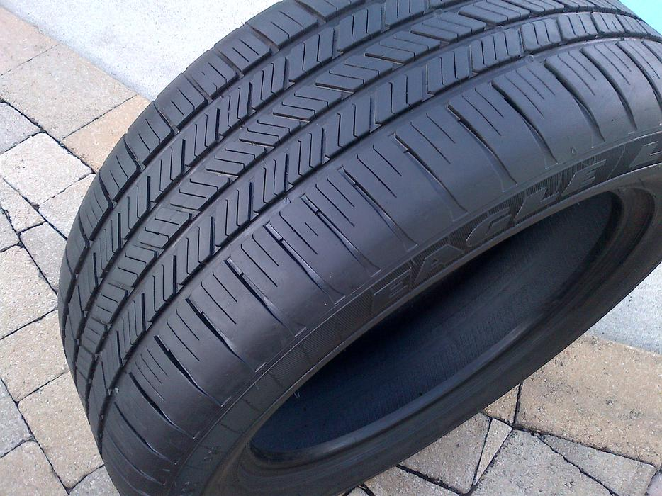 2 Goodyear Eagle Ls2 Run Flat 275 50 20 R20 109h Tires Bmw