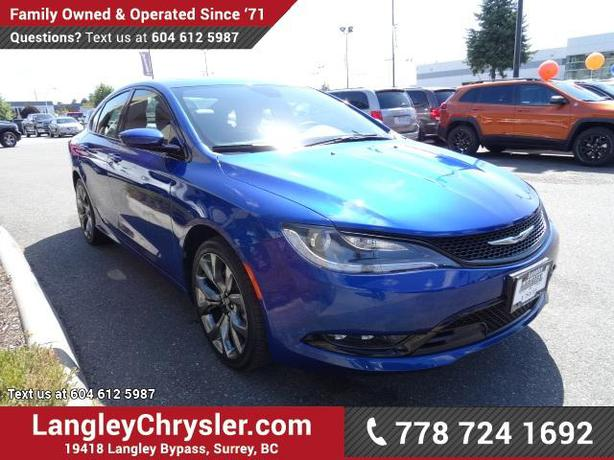 2015 chrysler 200 manual transmission