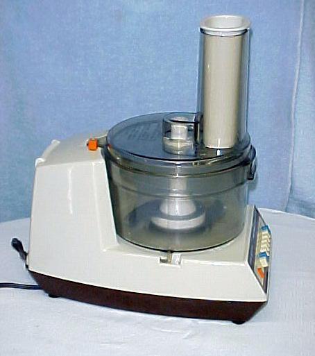 Electric Food Processor ~ General electric food processor blender machine slicer