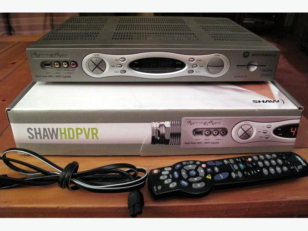 shaw hd pvr 630 manual