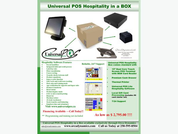 POS In A Box  !!
