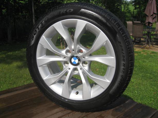 Run Flat Tires 4 Mag Wheels With 4 Pirelli Snow