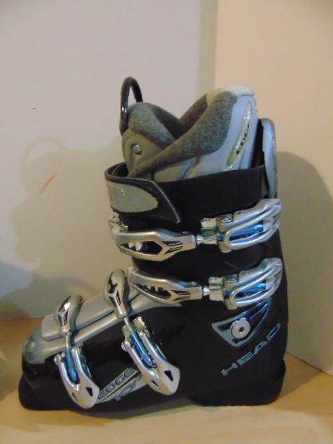 ski boots mondo 25 0 usa shoe size 8 edge 10 7