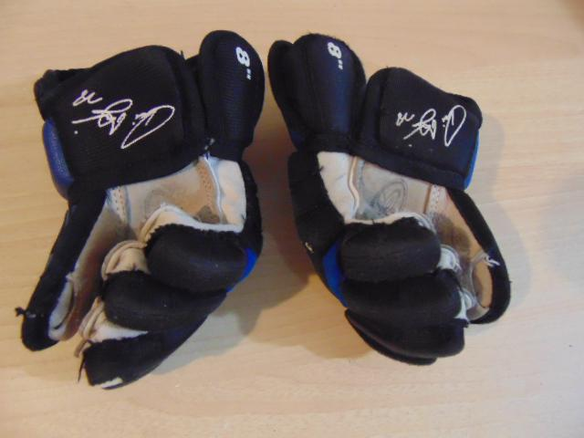 """Hockey Gloves Childrens Toddler Size 8"""" Domi Leather Palms ..."""