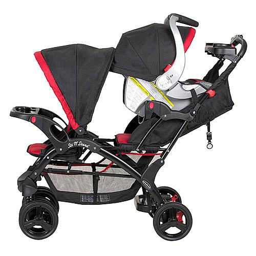 Baby Trend Sit N Stand Double Stroller Pistachio: Baby Trend Sit N Stand Double Stroller Cowichan Bay