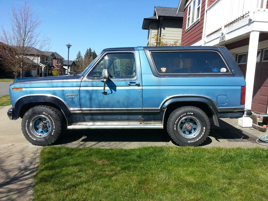 1984 Ford Bronco Parting Out West Shore Langford