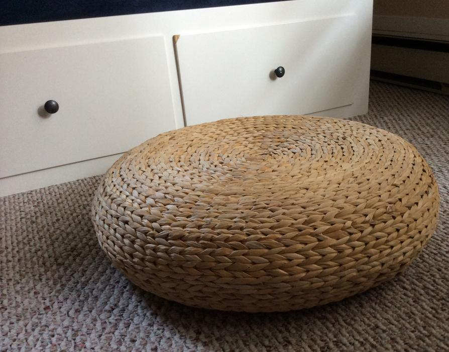 Ikea Alseda stool/ Rattan pouf Victoria City, Victoria