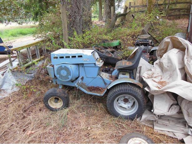 Sears Garden Tractor 16 Horse : Sears horse garden tractor duncan cowichan