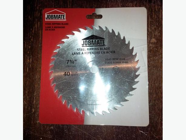 7 1/4 Inch Steel Ripping Blade for Circular Saw 40 teeth 7000 RPM