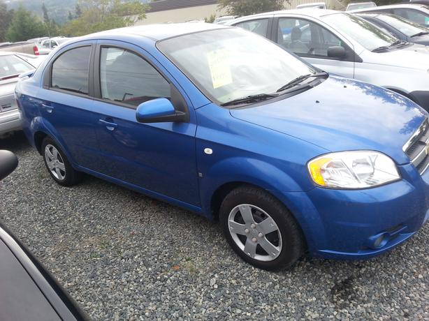 2007 chevrolet aveo south nanaimo nanaimo mobile. Black Bedroom Furniture Sets. Home Design Ideas