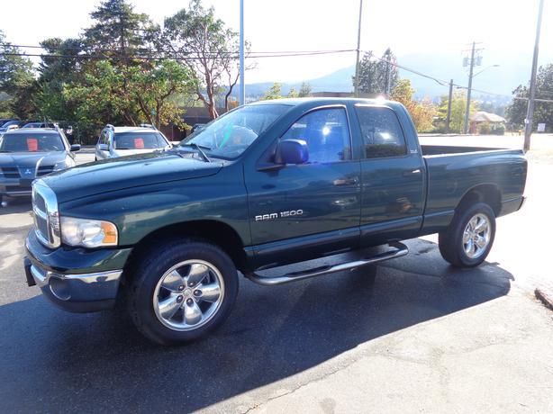 2002 dodge ram 1500 4x4 quadcab central nanaimo nanaimo. Black Bedroom Furniture Sets. Home Design Ideas