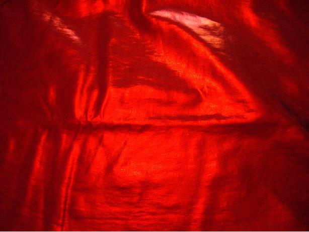 Metallic red Fabric