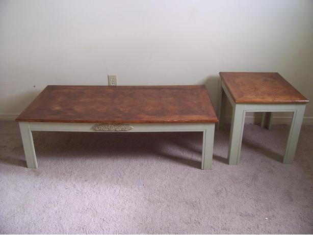 Rustic Chic Matching Coffee Table And End Table Set I Deliver Gloucester Ottawa