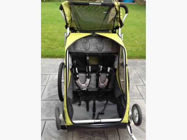 Chariot Cougar Double Stroller/Bike Trailer Oak Bay, Victoria