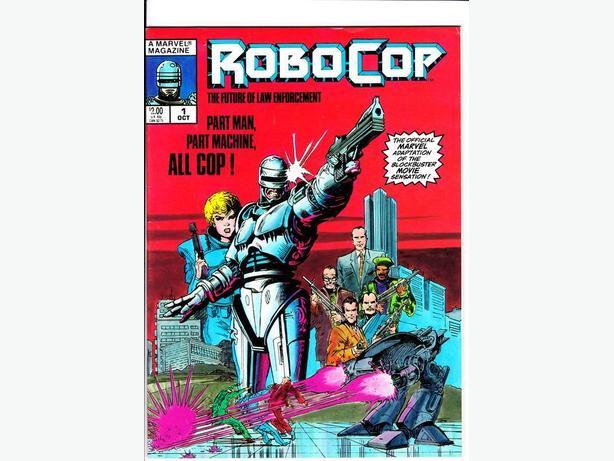 ROBO-COP MAGAZINE (one shot) - Marvel / 1987