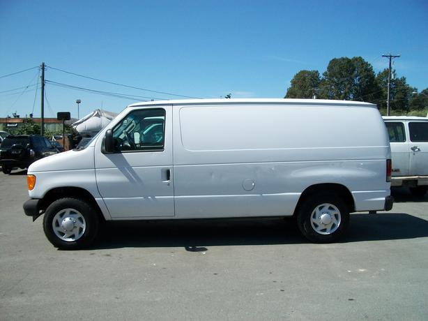 2007 ford e150 cargo van surrey incl white rock vancouver. Black Bedroom Furniture Sets. Home Design Ideas
