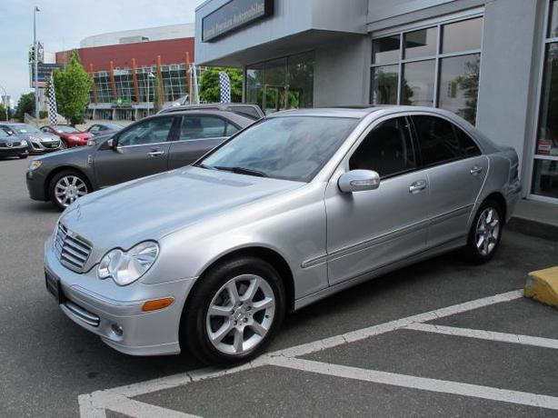 2007 mercedes c280 4 matic outside nanaimo parksville for Mercedes benz 2007 c280