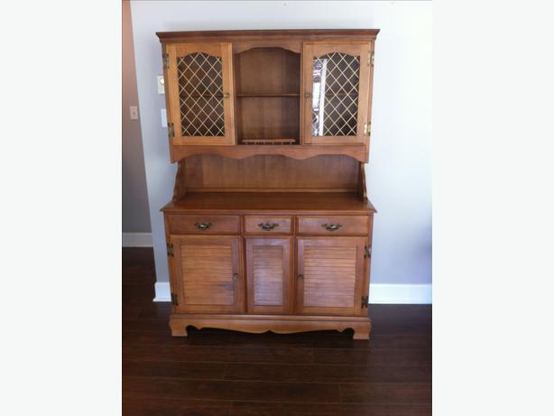 REDUCED Dining Room Set With China Cabinet And Buffet Coquitlam Incl Port