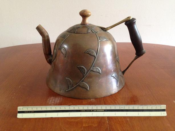 Handmade copper kettle
