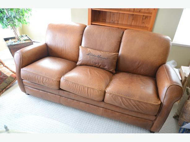 Exceptional Lane Leather Sofa Eddie Bauer Lifestyles