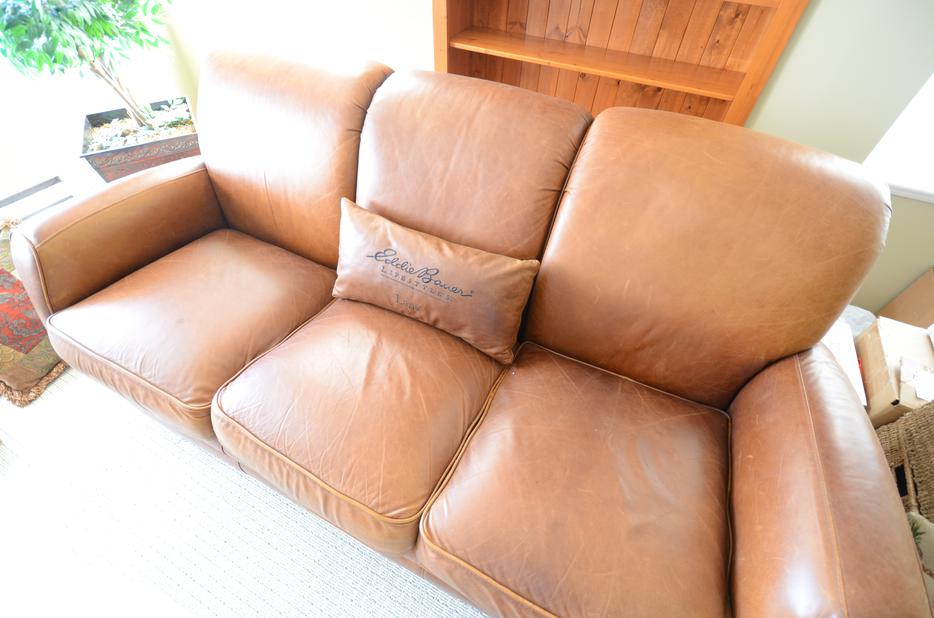 Lane Leather Sofa Eddie Bauer Lifestyles Malahat (including Shawnigan Lake  U0026 Mill Bay), Victoria
