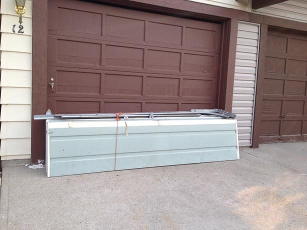 9x8 insulated garage door north east calgary With 9x8 insulated garage door
