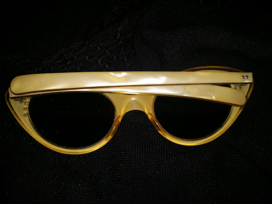 1950s CATS EYE ANTIQUE COOL GLASSES Vancouver City ...