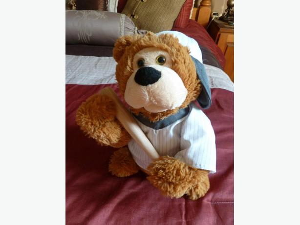 Musical plush BASEBALL Bear sings and dances