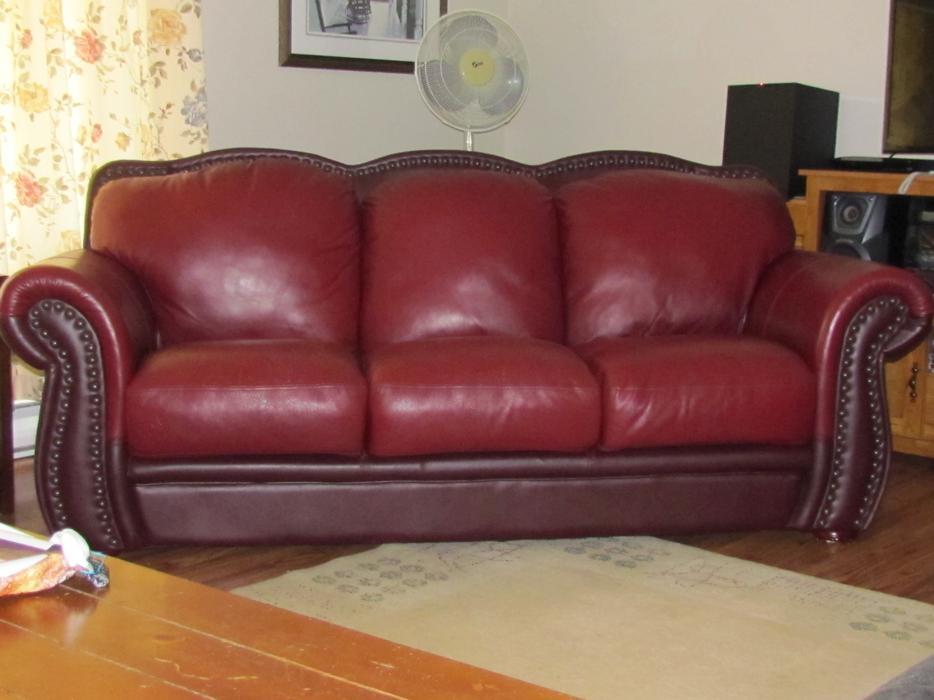 Leather 3 Piece Living Room Set Outside Ottawa Gatineau