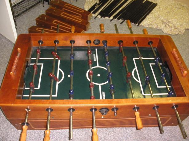 Beautiful Harvard Wood Foosball Table