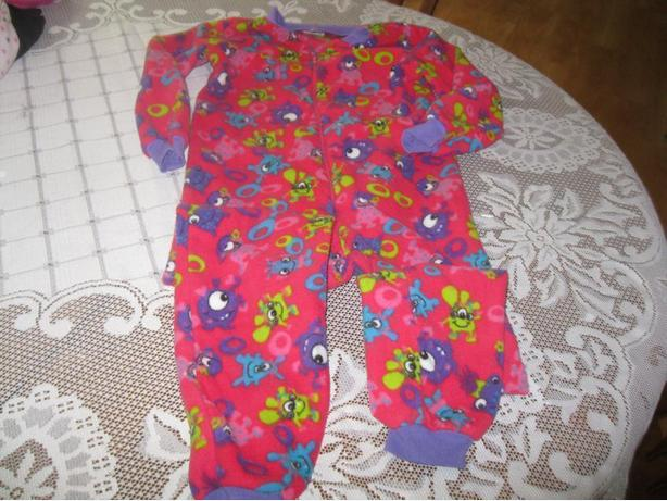 Girls MONSTERS 1 piece PJ - size 5/6
