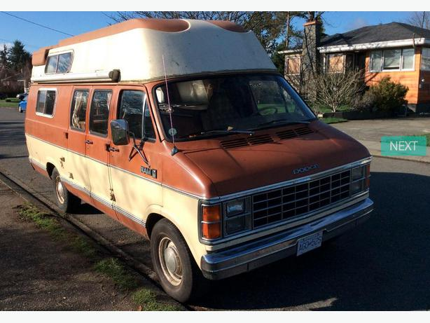 1982 dodge camper van for sale victoria city victoria. Black Bedroom Furniture Sets. Home Design Ideas