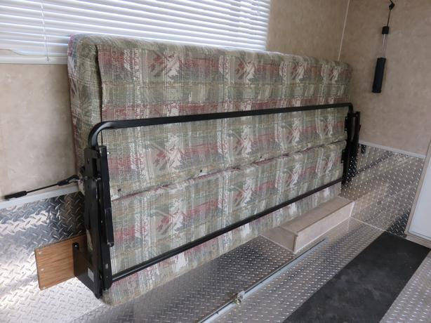 Couch bed for camper or cargo trailer sault ste marie for Sofa bed 5ft