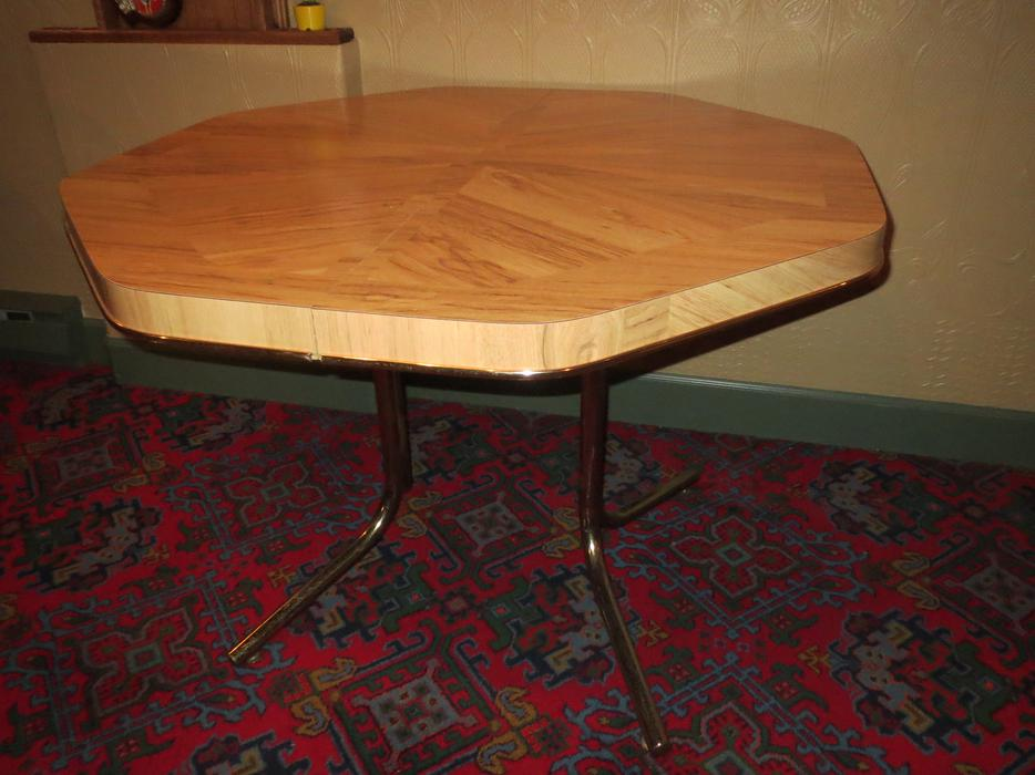 octagon kitchen table no chairs saanich