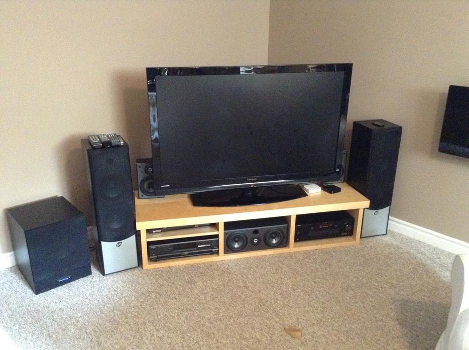 Ikea tv media stand west carleton ottawa mobile - Tv und mediamobel ...