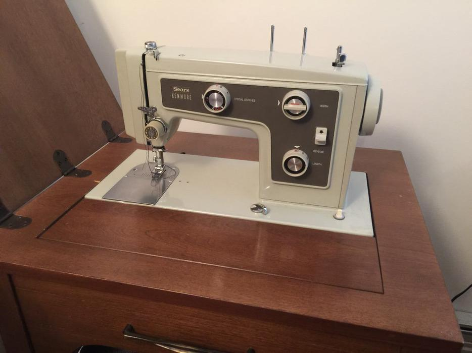 sewing machine sears kenmore
