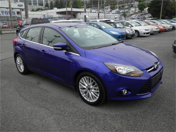 2014 ford focus titanium hatchback myford backup cam lthr roof surrey incl white rock vancouver. Black Bedroom Furniture Sets. Home Design Ideas