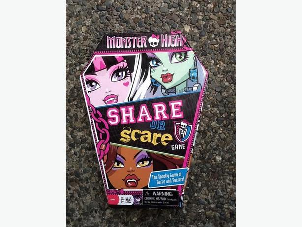 Monster High - Share or Scare game