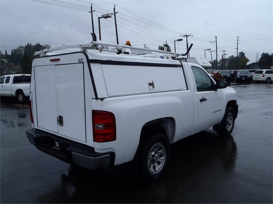 2011 Chevrolet Silverado 1500 Work Truck 2wd With Service