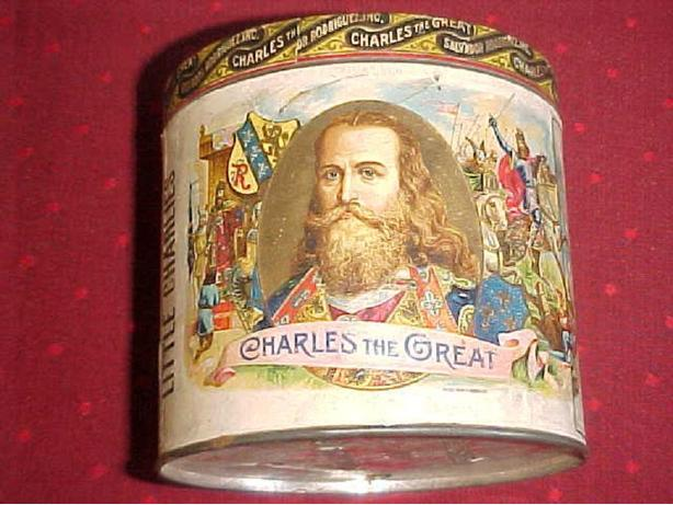LITTLE CHARLIES CIGAR TIN