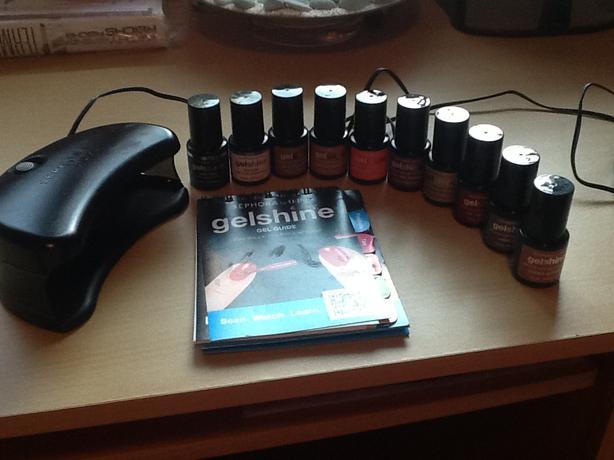 50 · Like new Sephora OPI Gel Manicure Kit