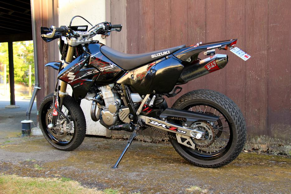 2009 suzuki drz dr z 400 sm supermoto super moto north. Black Bedroom Furniture Sets. Home Design Ideas